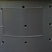 Holes in Rubber Trash Can for Air Circulation